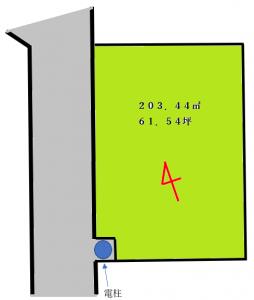 加曽利町区画図