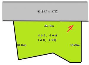 山王町4200区画図