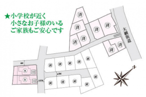 誉田Ⅶ9号区画図