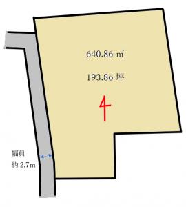 高津戸町区画図