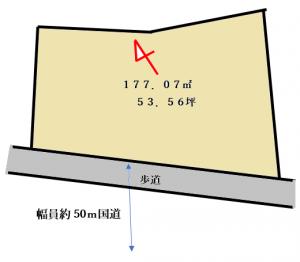黒砂区画図Ⅱ