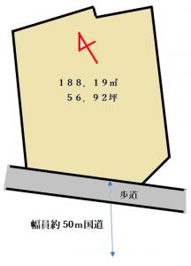 黒砂区画図