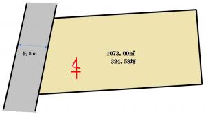 小間子町貸地区画図