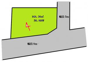 加曽利町980万区画図