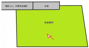 桜木区画図